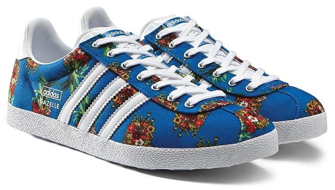 zapatillas mujer adidas gazelle azul