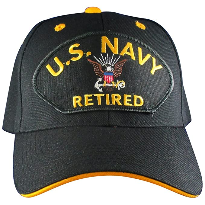 Amazon.com  US Navy Retired Hat  922025bf37b