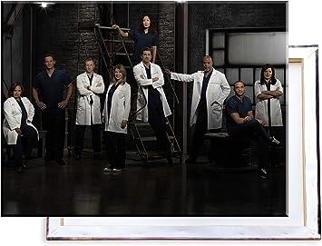 Unified Distribution Supernatural 60x40 cm Kunstdruck auf Leinwand /• erstklassige Druckqualit/ät /• Dekoration /• Wandbild