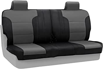 Amazon Com Coverking Csc2s3fd7375 Custom Fit Front Split Bench Seat Cover For Select Ford F 150 Models Spacermesh Gray Automotive