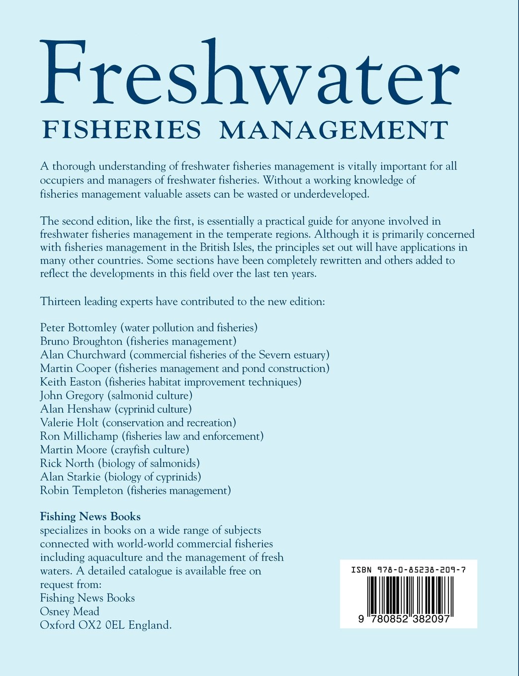 Buy freshwater fisheries management book online at low prices in buy freshwater fisheries management book online at low prices in india freshwater fisheries management reviews ratings amazon fandeluxe Images