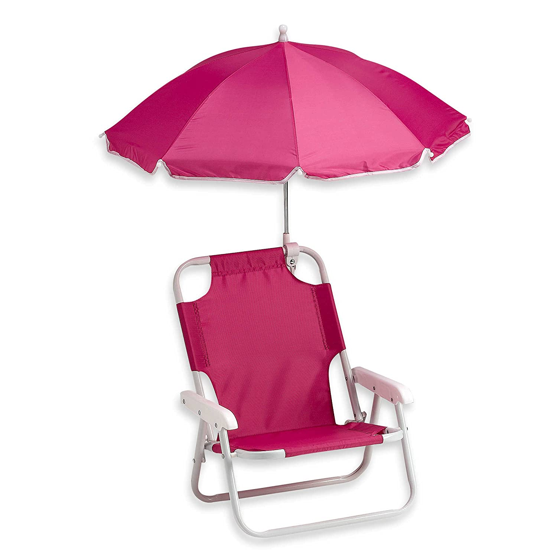 Amazon Redmon Baby Beach Chair and Matching Umbrella Hot