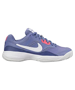 Nike Court Lite Cly Mujer Purpura Blanco N845049 503: Amazon.es ...