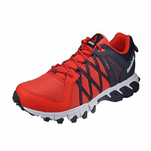 Scarpe Maschili da Corsa E da Escursionismo (44, Rosso)
