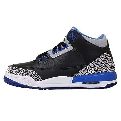 7fc915fffb2 ... inexpensive nike boys air jordan 3 retro bg sport blue black sport  royal wolf grey e8f04