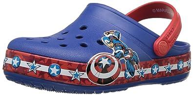 37faa683bc4b3 Crocs Boys  CB FL Captain America CLG K Clog