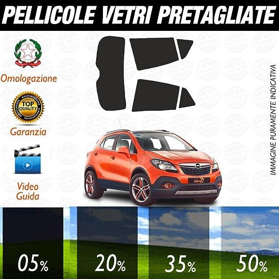 Lollomoto Opel Mokka de 2012 a 2016 - Láminas de oscurecimiento para Cristales de Coche precortadas a Medida: Amazon.es: Hogar
