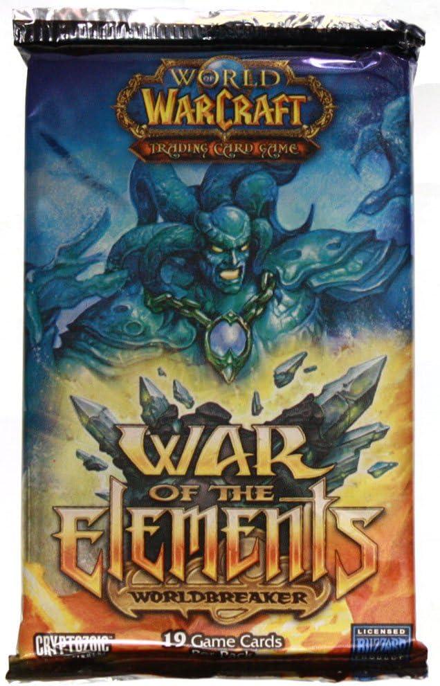 Mundo de Warcraft Guerra de los Elementos Juego de Cartas: Amazon.es: Juguetes y juegos