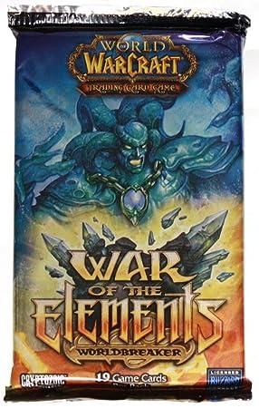 Mundo de Warcraft guerra de los elementos juego de cartas ...