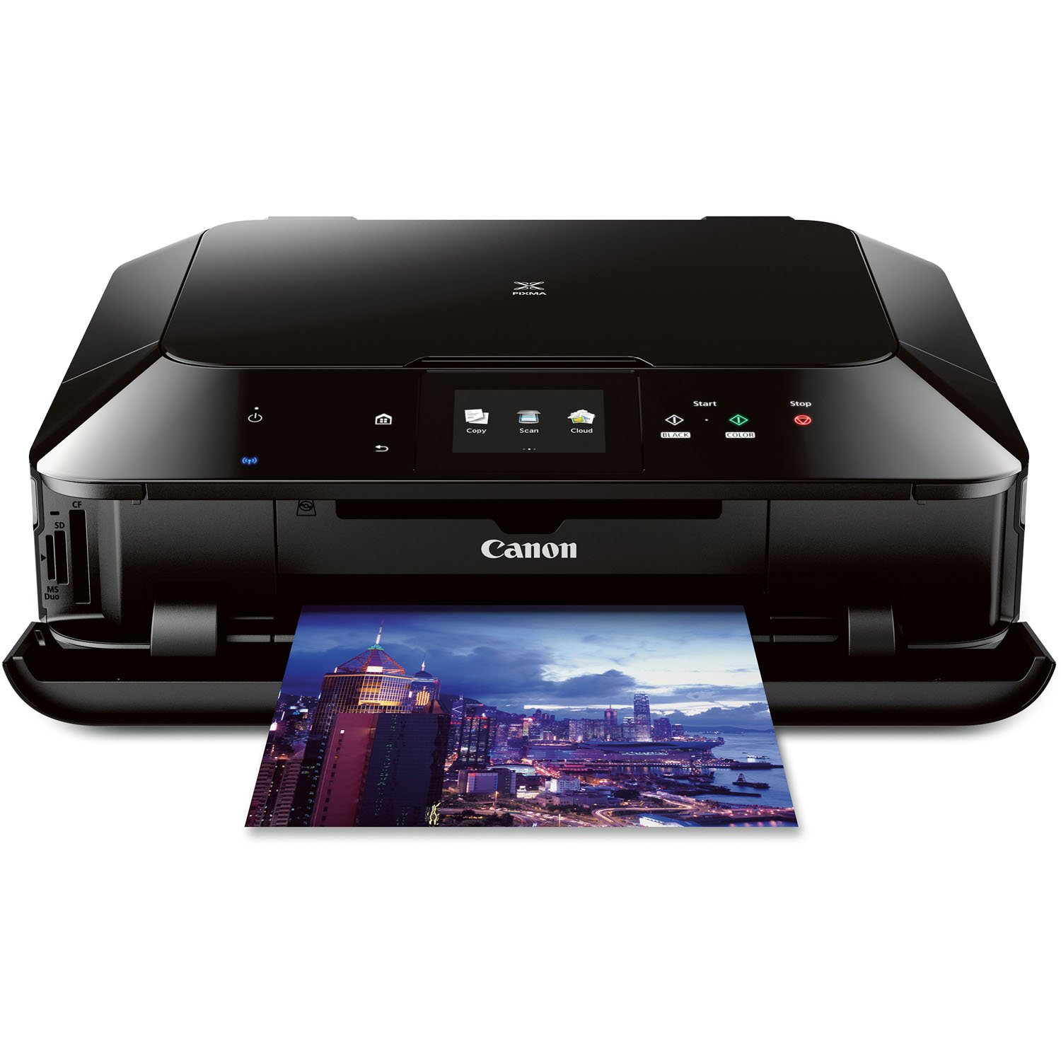 Amazon.com: Canon PIXMA MG7120 Wireless Color Photo All-In-One Printer,  Black (Discontinued by Manufacturer): Electronics