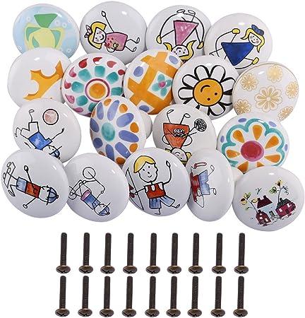 poignées Enfants Armoire Tiroir Cabinet Armoire Ball-boutons