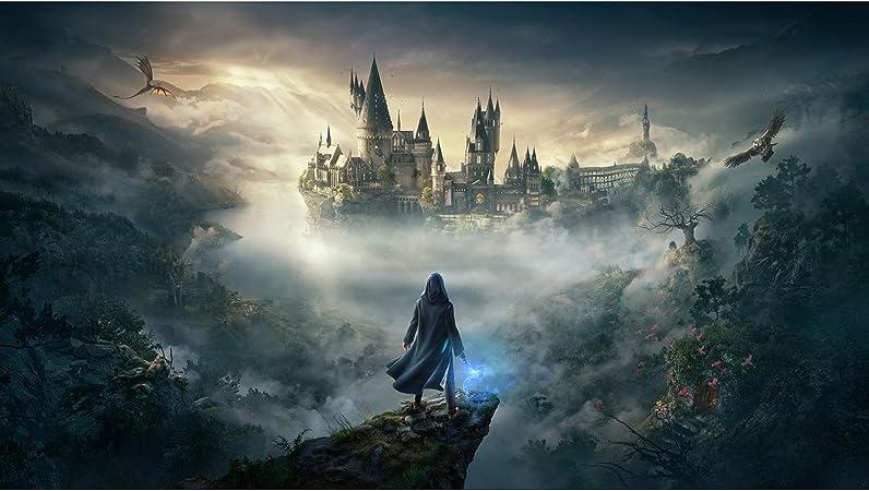 SGLMYD Harry Potter Puzzle 1000 Piezas de Castillo de ...