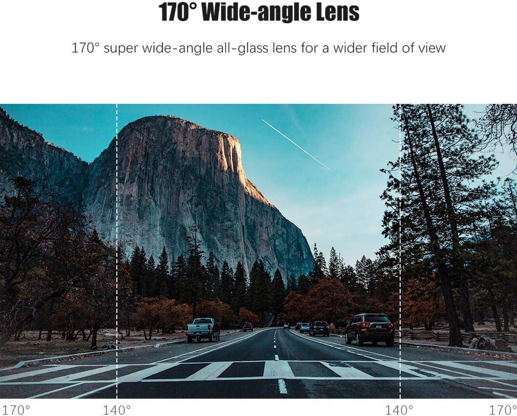 EKLEVA Dash Cam WiFi Full HD 1080P Super Mini Car Camera DVR Wireless Night Version G-Sensor Driving Recorder