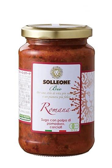 Sol Leona Bio Pasta 340 g de salsa Romana
