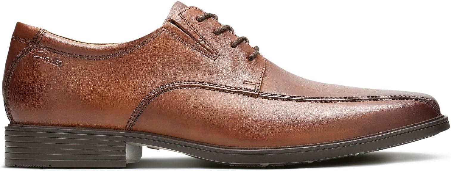 TALLA 42 EU. Clarks Tilden Walk, Zapatos de Cordones Derby para Hombre