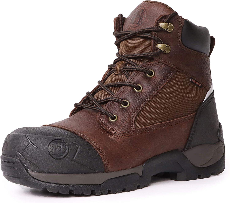 Amazon.com | HANDMEN Work Boots for Men
