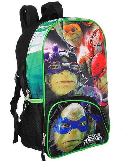 Nickelodeon - Mochila Infantil, Ninja Turtle (grün-Rot ...