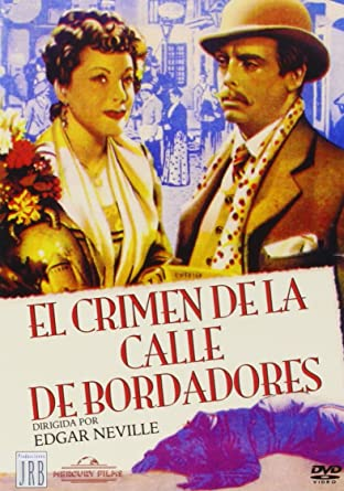 EL CRIMEN DE LA CALLE DE BORDADORES - Region 2 - PAL format - Spanish only