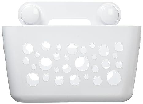 Accessori Bagno Best Lock.Interdesign Bubblz Portaoggetti Con Ventosa Power Lock