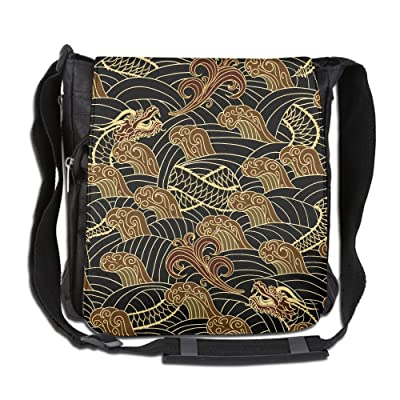 Asian Traditional Seamless Fashion Outdoor Lightweight Backpack Single Shoulder Crossbody Bags For Men & Women