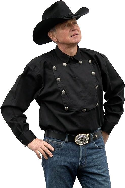 disponibilità nel Regno Unito 3d668 c0867 Country Camicia western John Wayne Running Bear Taglia L ...