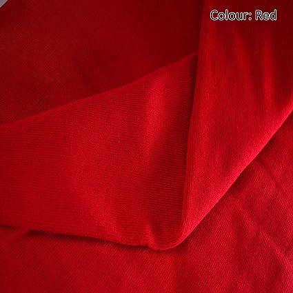 65f5b69033a Neotrims Stretch Sweatshirt Rib Fabric, Knit Ribbing, Waistbands Cuffs. For  Hoddies & Dressmaking