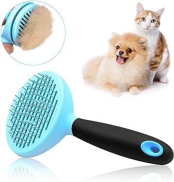 cepillo para perros y gatos Cepillo para medio y pelo largo Soft ...