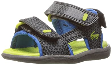 See Kai Run Boys  Jetty II Black Water Shoe 1.5 M US Little Kid 21c6d58b8