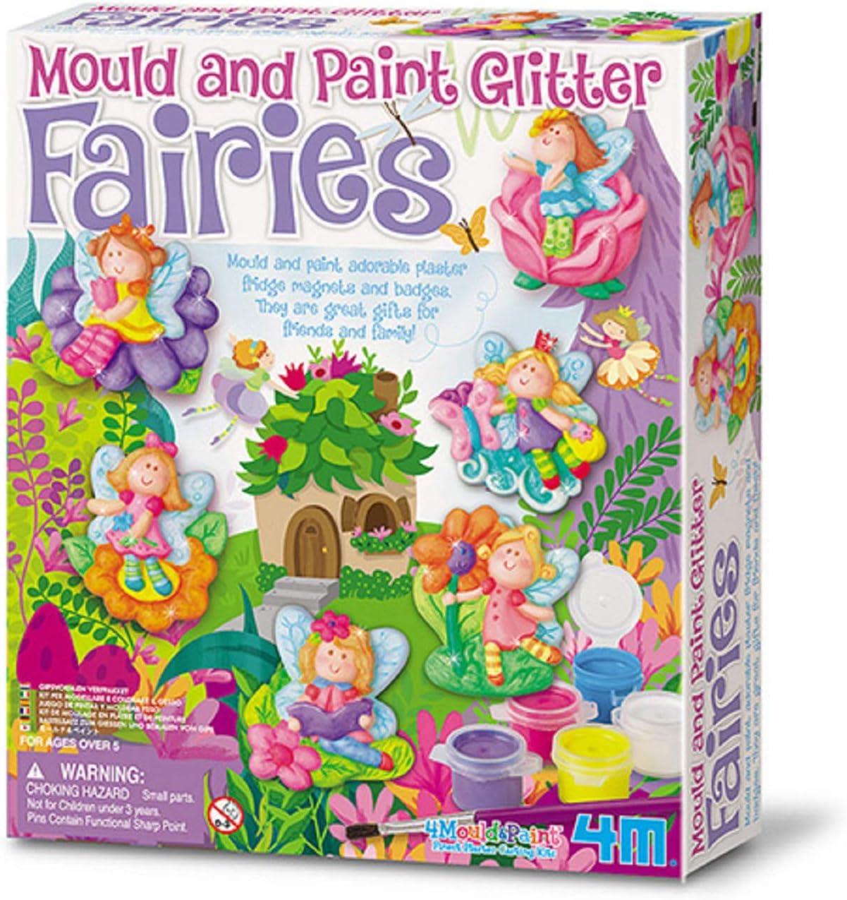 Great Gizmos 4M - Mould & Paint Glitter Fairy (004M3524)