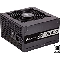 Corsair VS450 Alimentation (450 watts, Active PFC, certifiée 80 PLUS White) Noir