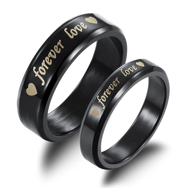 Fate Love Titanium Steel Black