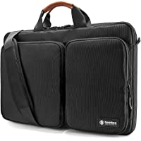 tomtoc 360 Protective Laptop Shoulder Bag for The New Razer Blade Pro 17, HP Envy Laptop 17 Inch, Dell Inspiron 17 3000…