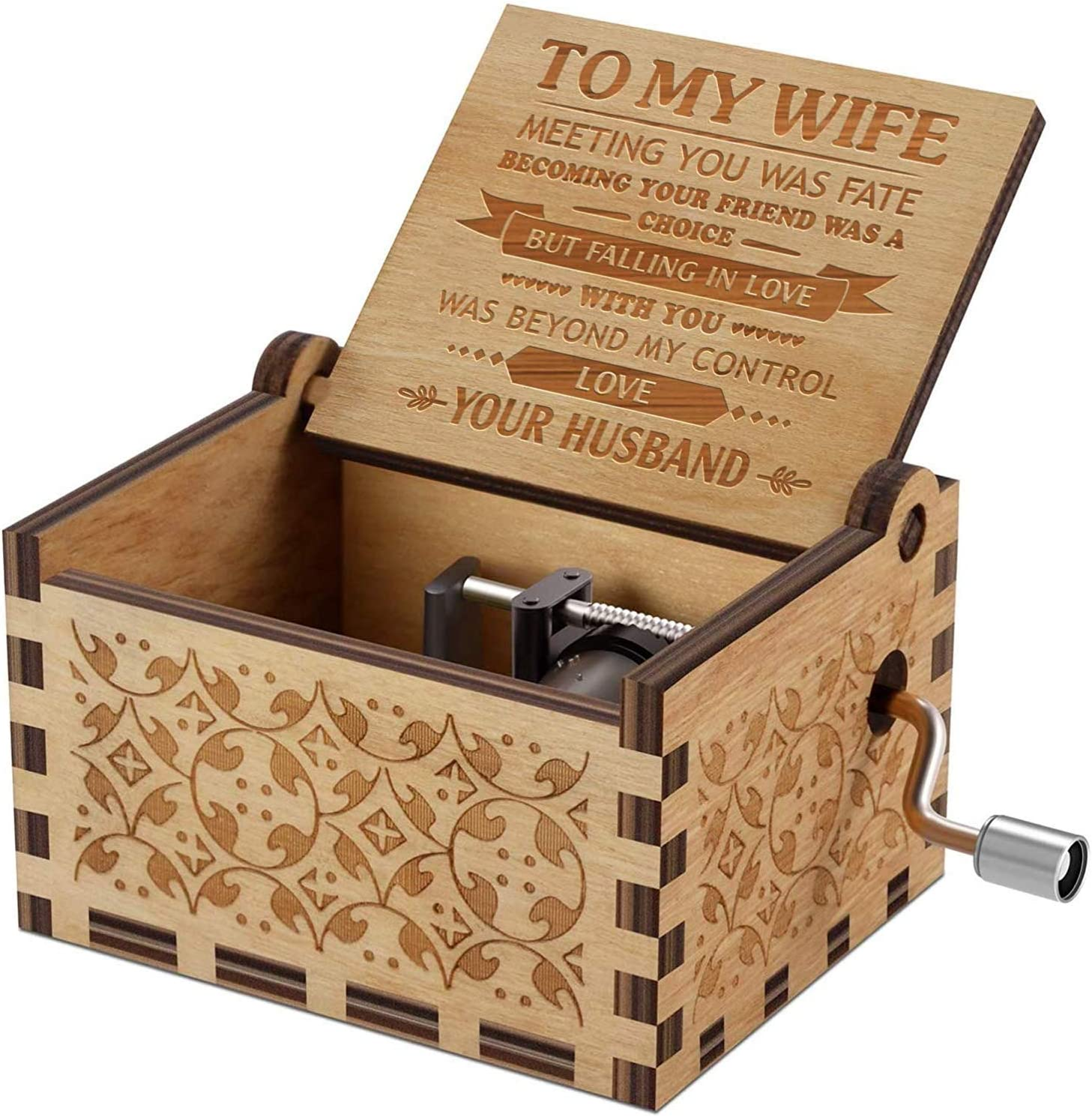 Engraved Music Box You Are My Sunshine Gift For Your Wife Falling In Love With You Christmas Gift Ideas For Her