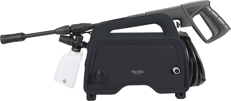 Martha Stewart MTS-1300PW-MBK 11-Amp Electric Hand-Carry Portable Pressure Washer, Black