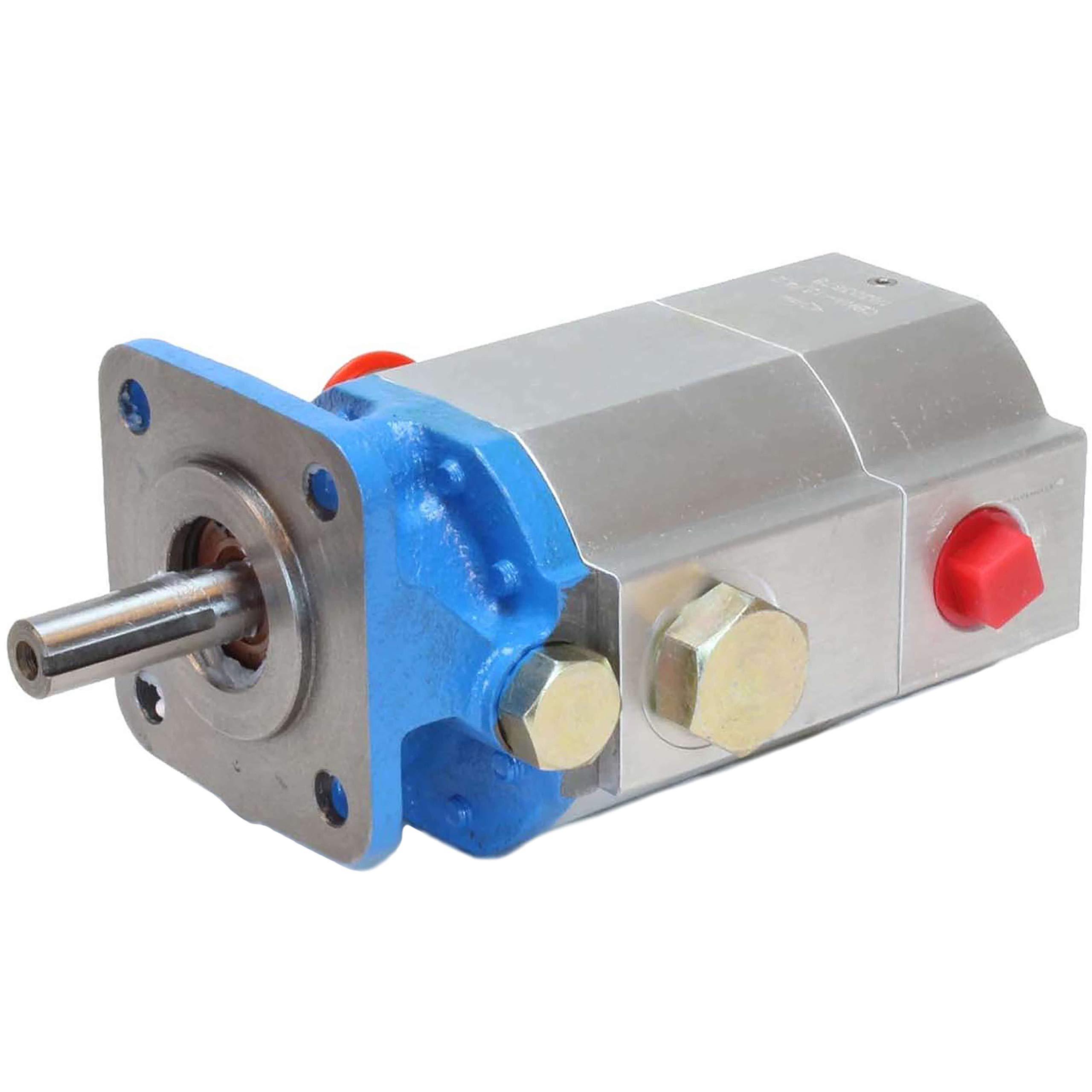 RuggedMade 16 GPM 2 Stage Hydraulic Log Splitter Pump, 3000 PSI by RuggedMade