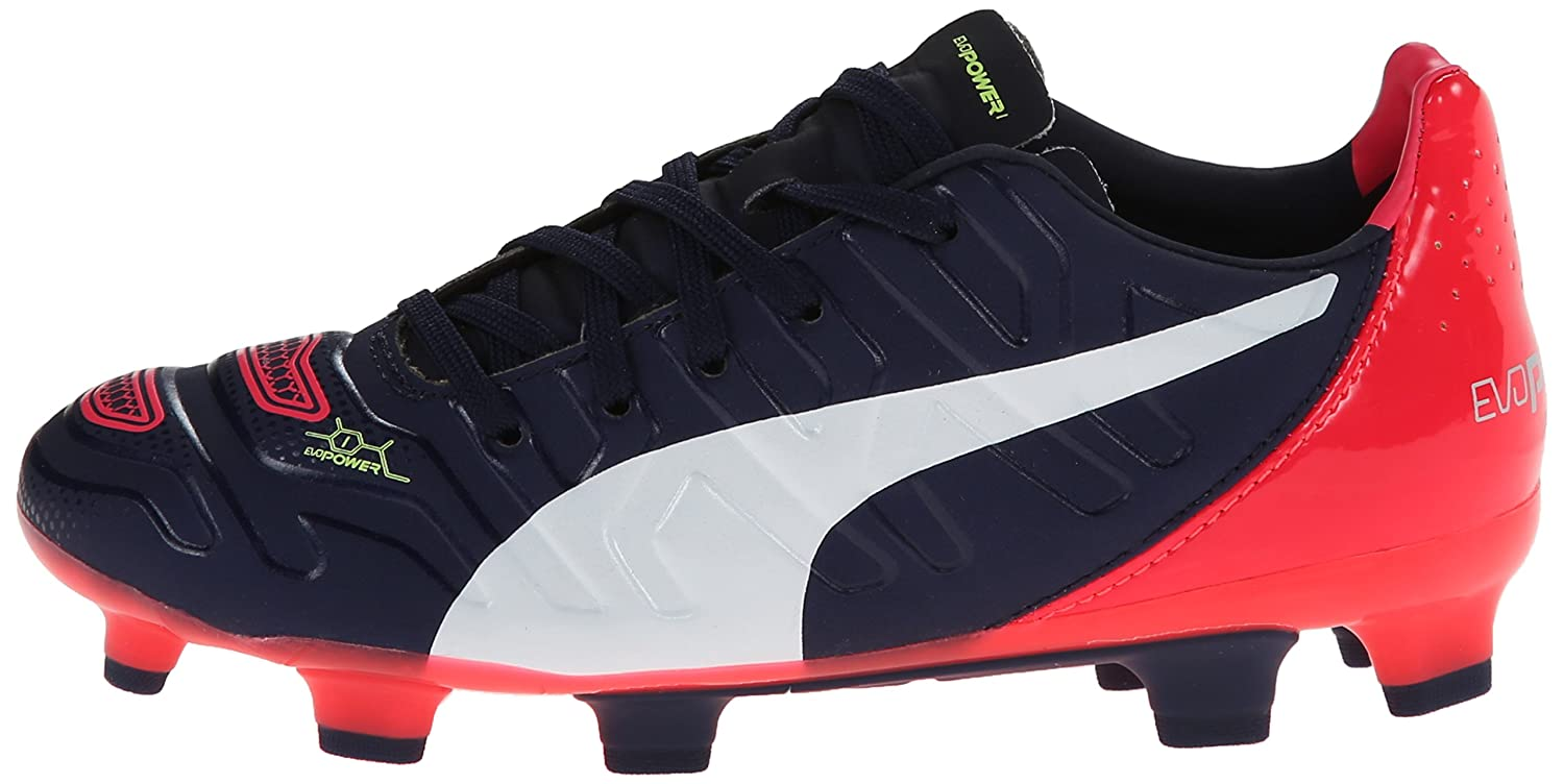 PUMA Evopower 1.2 Firm Ground JR Soccer Shoe Little Kid//Big Kid