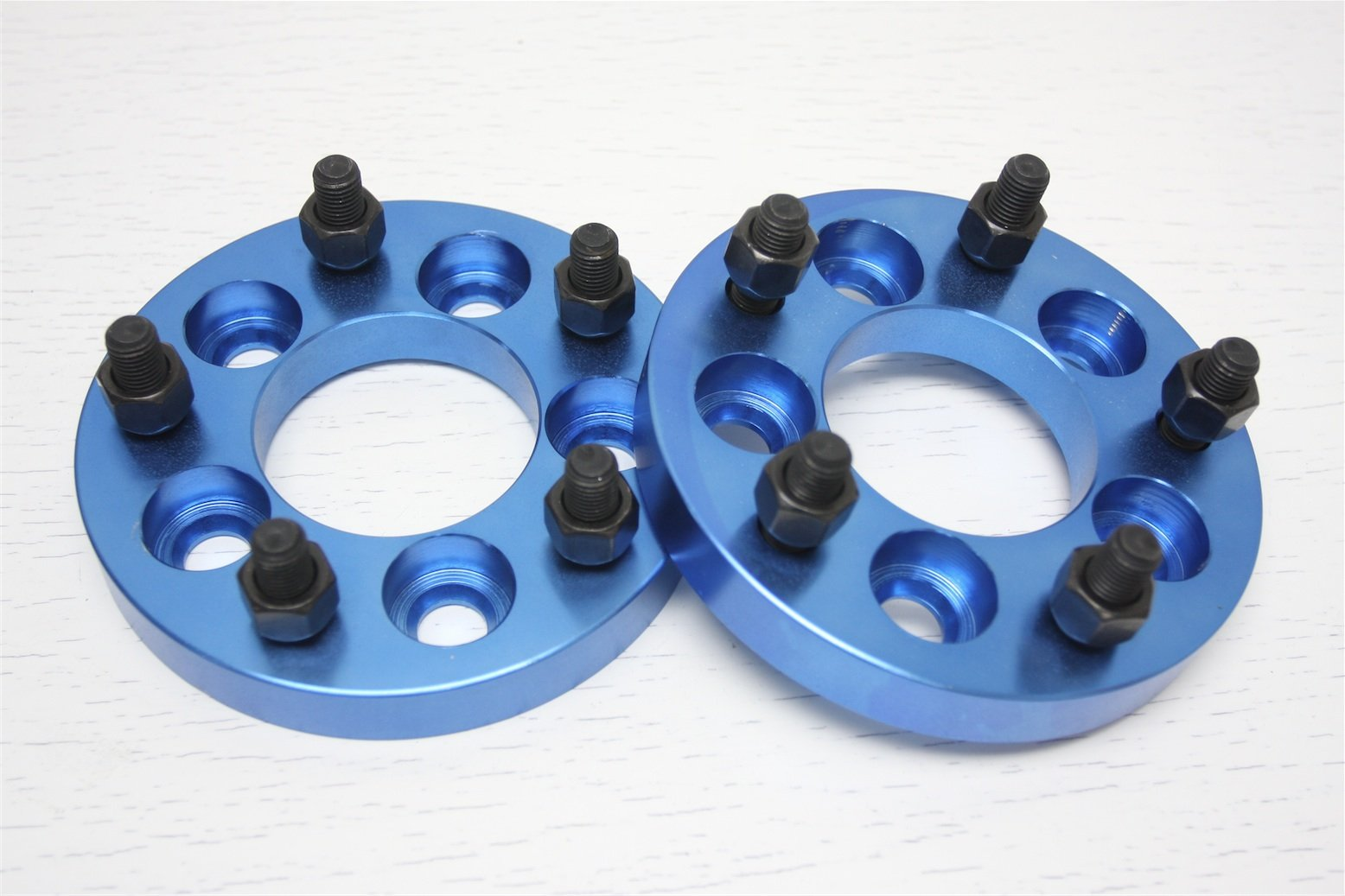 Autobahn88 0.8'' (20mm) Universal Vehicle Wheel Spacer, 5x4.5'' to 5x4.5'' (5x114.3mm to 5x114.3mm), P1.5 M12, Center Bore 2.9'' (74.1mm) - Pack of 2
