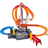 Hot Wheels Spin Storm Playset, Frustration-Free Packaging