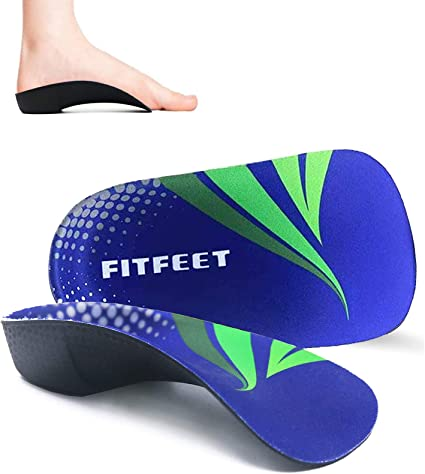 Insoles Orthotic Shoe Inserts for Arch Support For Plantar Fasciitis /& Flat Feet