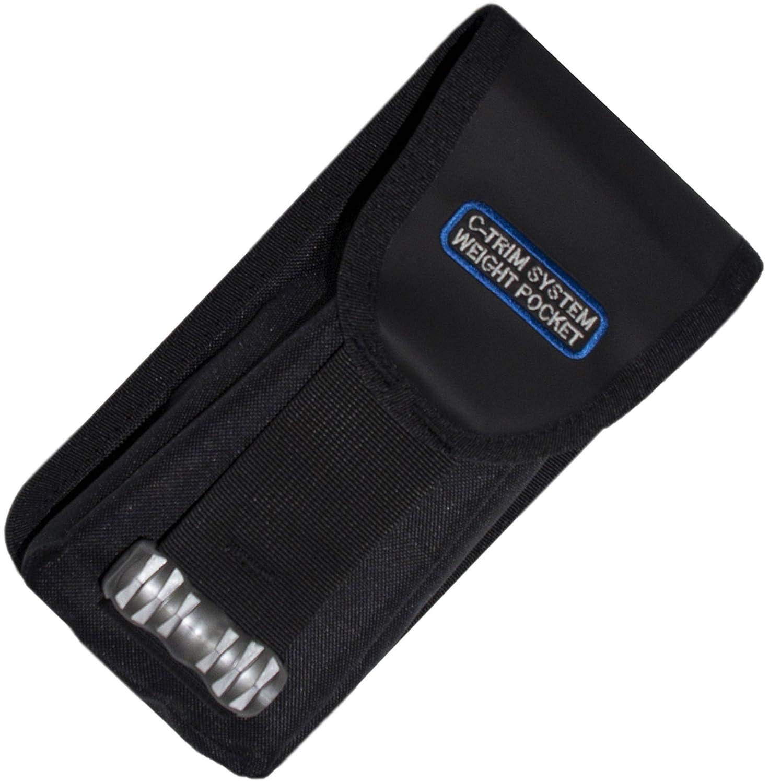 Cressi C-Trim S2011Bolsillos de lastre para compensador de flotabilidad, Color Negro IZ750095