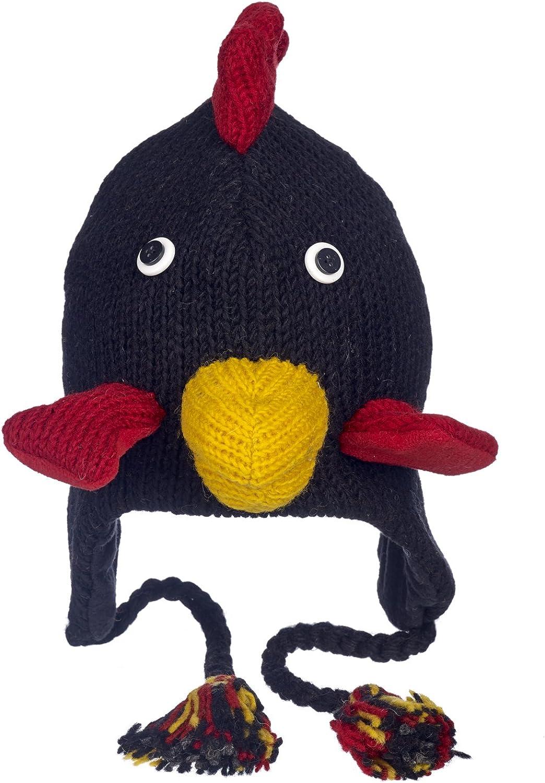 Pollo commercio equo e solidale Cappello a forma di animale