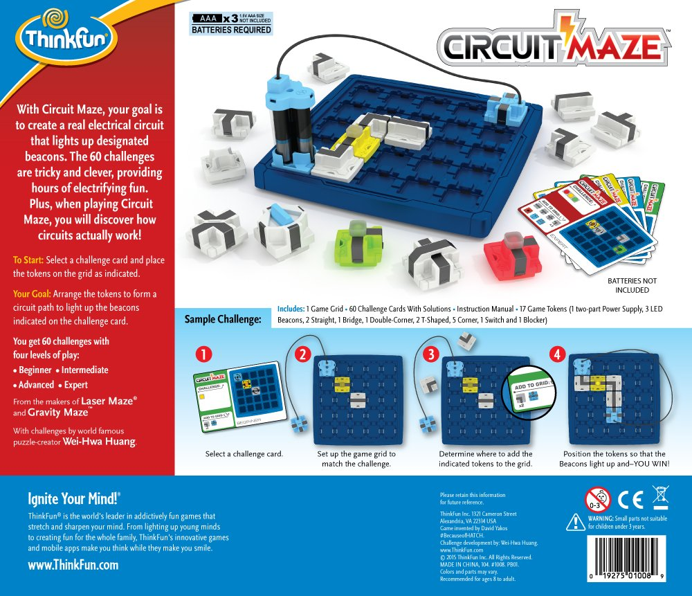 Buy Think Fun Circuit Maze Board Game Online At Low Prices In India Money Concept With State Bank