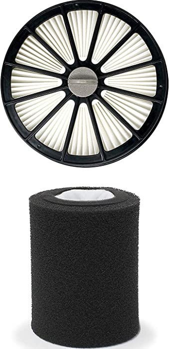 Fette Filter - Pet Hair Eraser Lift-Off Compatible with Bissell 20871 & 2087. Compare to Part # 1612637 & 1612631. (Pack of 1)