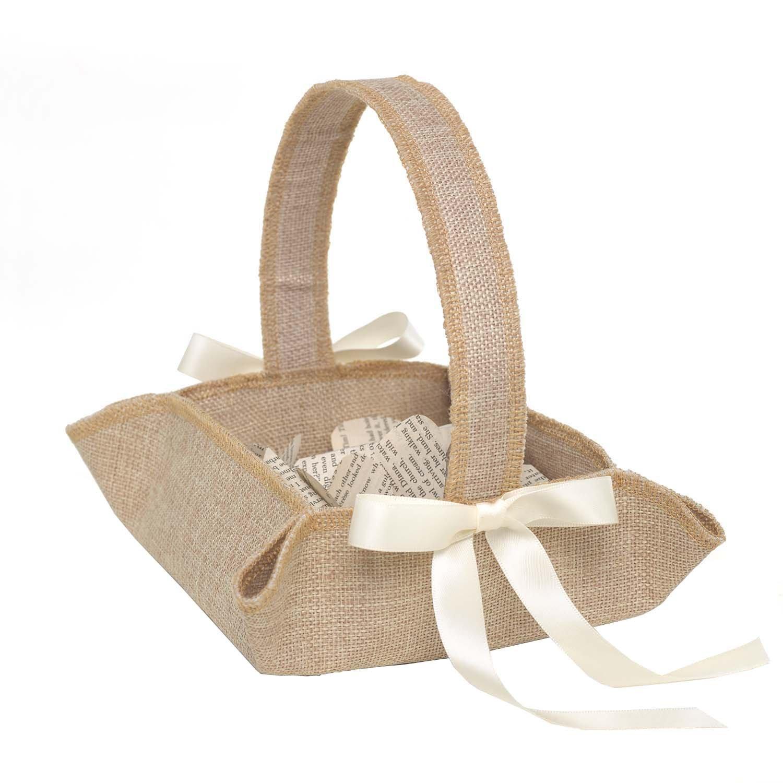 Hortense B. Hewitt Rustic Country Flower Basket