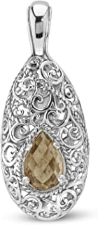 product image for Carolyn Pollack Signature Sterling Silver & Gemstone Pendant Enhancer