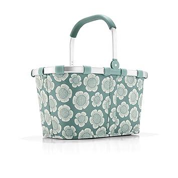 Reisenthel Korb Waschen reisenthel carrybag bloomy polyester mint grün 48 x 28 cm amazon
