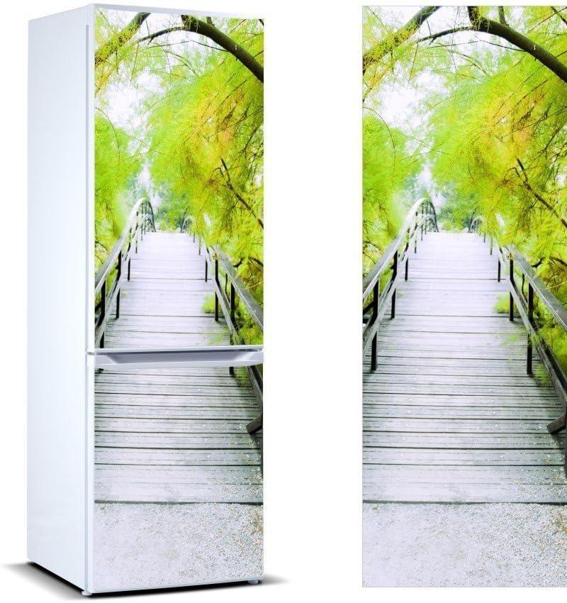 Oedim Vinilo para Frigor/ífico Vegetaci/ón 185 x 60 cm Pegatina Adhesiva Decorativa de Dise/ño Elegante Adhesivo Resistente y de F/ácil Aplicaci/ón