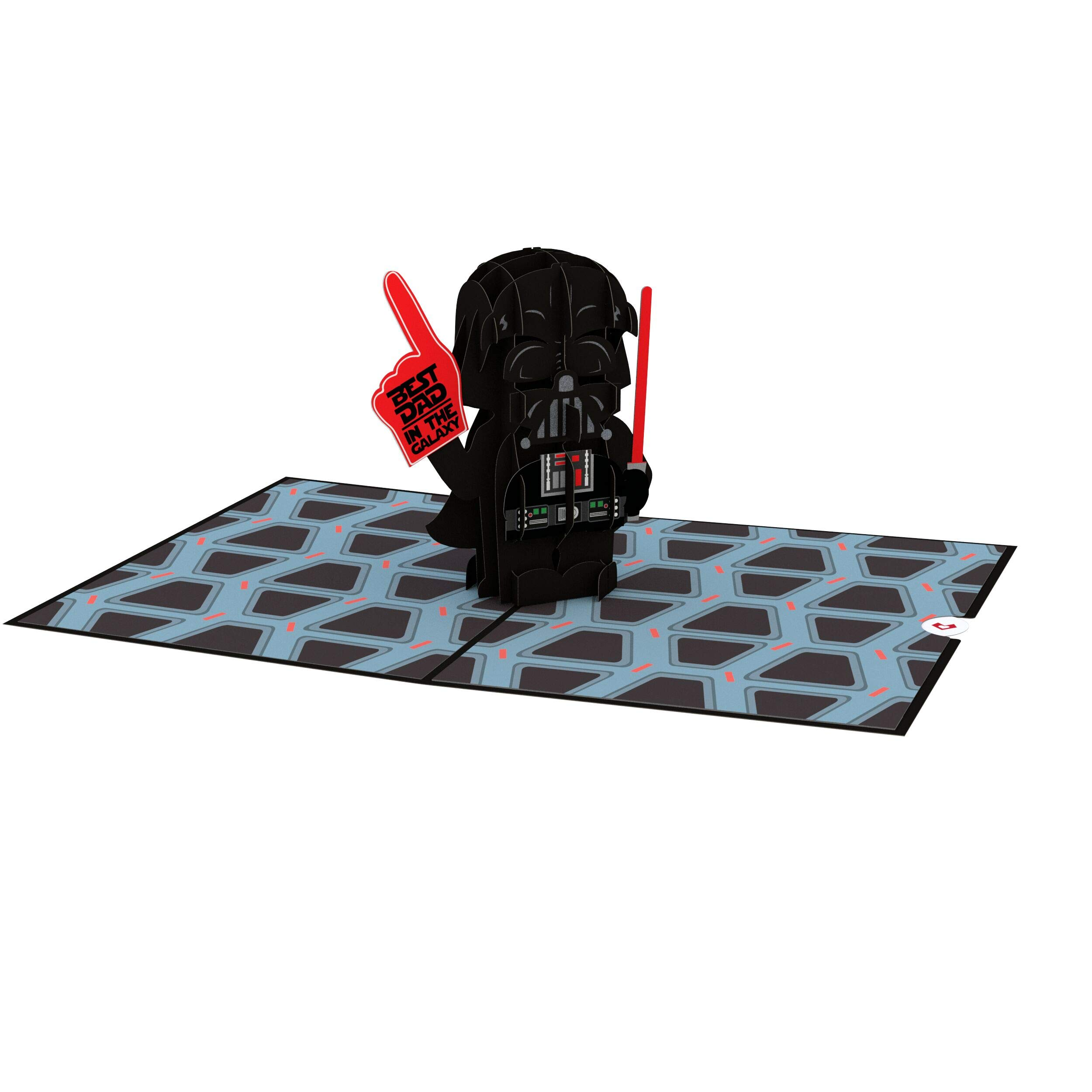 Lovepop Star Wars Darth Vader Best Dad Pop Up Card, Father's Day Card, Greeting Card, Dad Card, 3D Cards, Birthday Card, Greeting Card, Card for Dad by Lovepop (Image #3)
