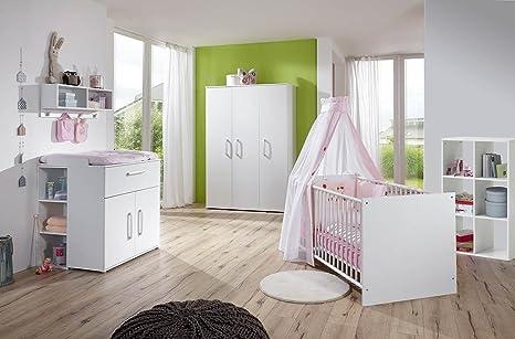 lifestyle4living Babyzimmer Komplett Set für Jungen ...