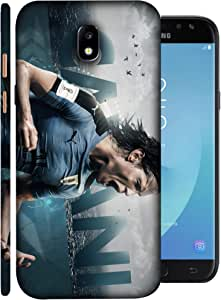 ColorKing Football Cavani Uruguay 01 Blue shell case cover for Samsung J7 Pro 2017